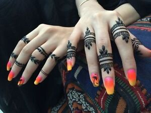 Henna cones Paste Black and red colours also available Windsor Region Ontario image 4