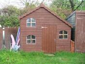 Used Wooden Wendy House