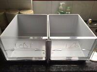 Fridge/ Freezer Hotpoint RFAA52 genuine salad/vegetable draws pair