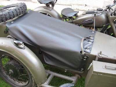 Sidecar Cover - Sidecar canopy cover button top black M-72 K-750 URAL DNEPR COSSACK NEVAL NEW