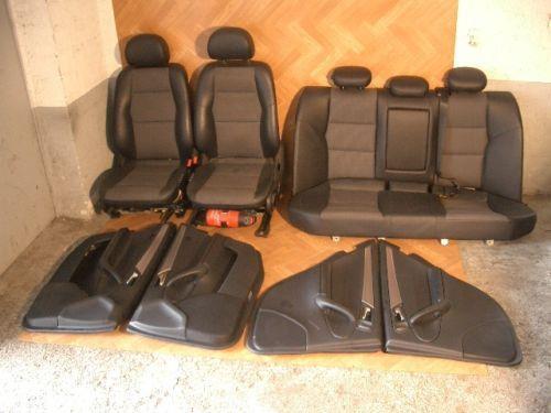 c klasse ledersitze sitze ebay. Black Bedroom Furniture Sets. Home Design Ideas