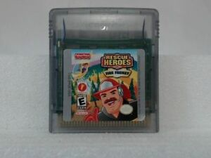 RESCUE HEROES FIRE FRENZY --- GAMEBOY COLOR cartridge only