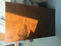 Light Brown Wooden Table Top