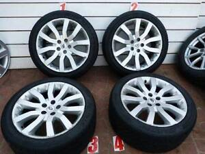 20INCH RANGE ROVER SPORT ALLOY WHEELS 275/40/20 95%Tread LEVEL Georges Hall Bankstown Area Preview