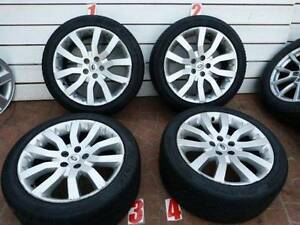 20INCH RANGE ROVER SPORT ALLOY WHEELS 275/40/20 85%Tread LEVEL Georges Hall Bankstown Area Preview