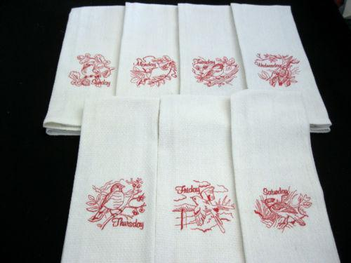 Embroidered Towels Ebay