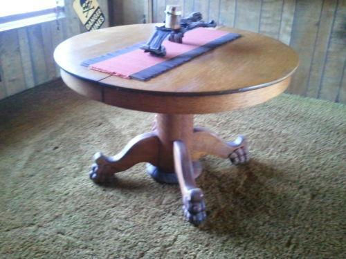 Oak Claw Table Ebay