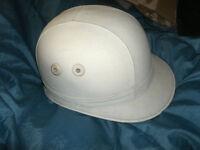 Vintage Cork Crash Helmet