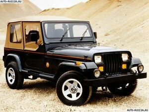 Jeep YJ Set of Soft Top Half Doors & Side Back Panels for 87-93