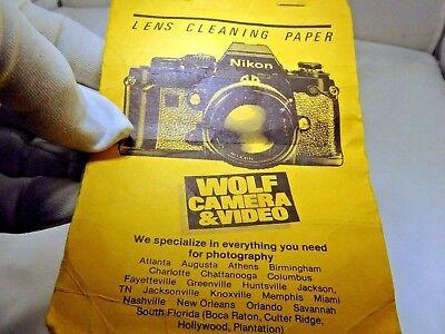 Оборудование для очистки Wolf Camera &