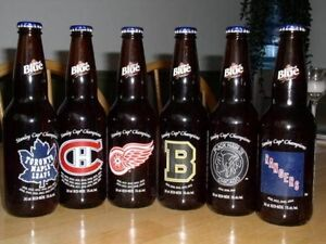 Looking for Hockey Original 6 Beer Bottle Collection