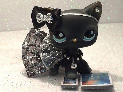 Littlest Pet Shop Clothes LPS Accessories Custom Outfit Web NO CAT/DOG