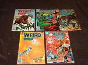 Weird War Tales Lot