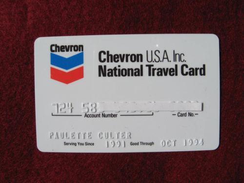 Old Credit Card Ebay