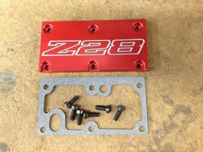 Tpi Lt1 Z28 Throttle Body Cover Plate Gasket Screws Red Camaro SS RS