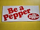 White Dr Pepper Advertising