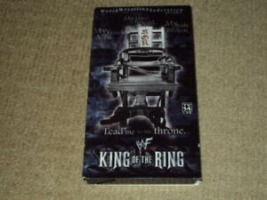 WWF 2001 KING OF THE RING, VHS, EXCELLENT CONDITION, WWE
