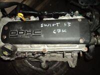 SUZUKI SWIFT 1.3 PETROL M13A 2005-2009 ENGINE other parts available WE SPECIALISE IN SUZUKI PARTS