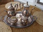 Rose Antique US Silver-Plated Teapots, Coffee Pots & Sets