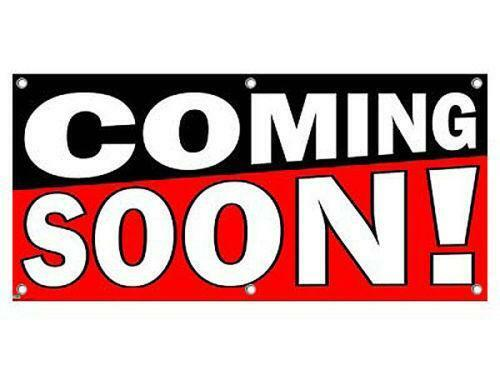 Coming Soon Sign EBay