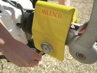 Milenco Heavy Duty Caravan Hitch Lock Brand New