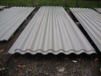 brand new 12ft long grey polyester coated box profile roofing sheets