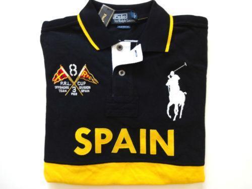 Ralph lauren polo shirts spain ebay for Spain polo shirt 2014