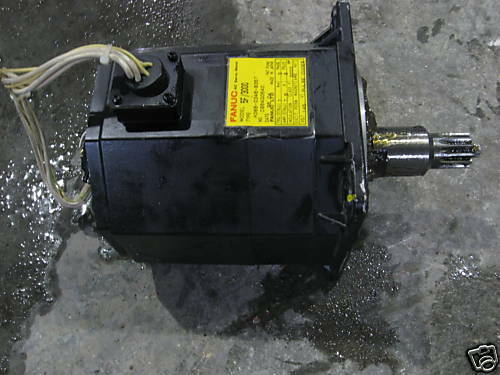 GE Fanuc 5F AC Servo Motor, A06B-0346-B357, NO ENCODER UNIT, Used,  WARRANTY