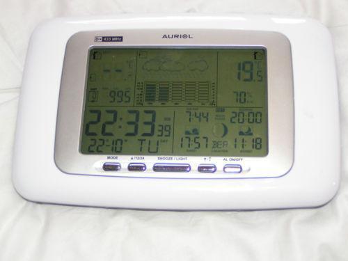 Auriol Weather Station Ebay