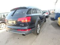 AUDI Q7 4L BACK END 05-2014 BREAKING FOR SPARES REPAIR PARTS LIGHTS S LINE SE