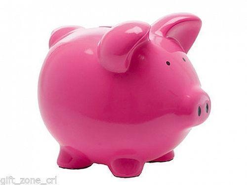 Large Pig Money Box Ebay
