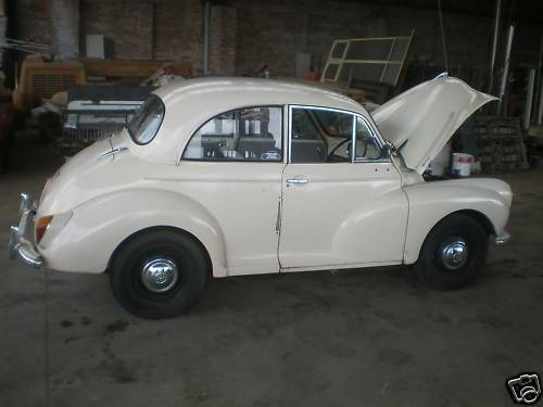 morris minor 1000 2 door jan 1960 model cars vans. Black Bedroom Furniture Sets. Home Design Ideas