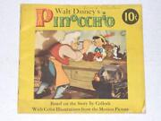 Disney Pinocchio Book