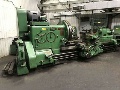 60 Swing X 100 Center Leblond Heavy Duty Engine Lathe Metal Turning Machine