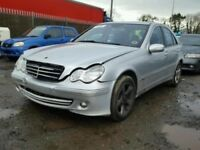 Breaking Mercedes Benz C Class W203 C220 CDI 2.2 CDI silver saloon for parts