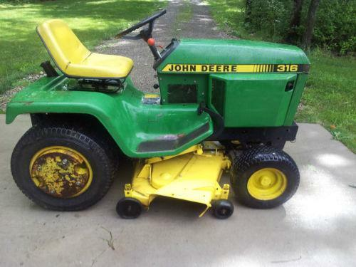 Lawn garden tractor used ebay for Used lawn and garden equipment