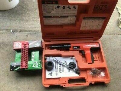 Ramset Cobra 0.27 Caliber Semi-automatic Powder Actuated Tool W Manual Shots
