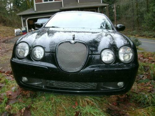 2003 jaguar s type r ebay. Black Bedroom Furniture Sets. Home Design Ideas