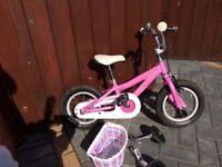 """Specialized Hotrock Girls Bike 12"""" (3-5years)"""