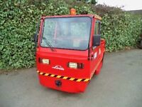 Linde P200 electric tow truck-tug-tractor