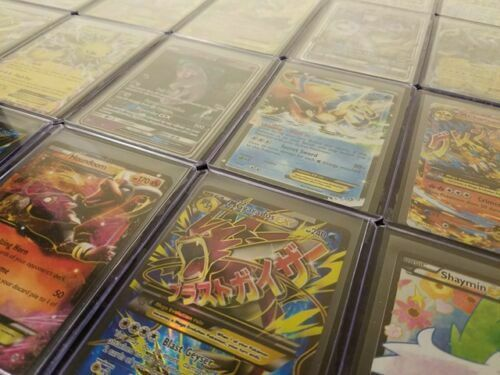 Pokemon Card Lot 100 Official Tcg Cards Ultra Rare Guaranteed Gx Ex V Mega Holos