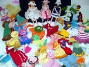 Hand Knitted Barbie Doll Clothes