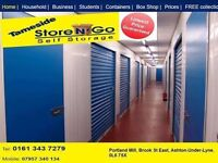 Self storage home movers storage short long term in Ashton Denton Hyde Mossley area
