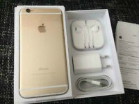 BRAND NEW IPHONE 6 64GB GOLD CHEAP!!! WITH RECEIPT