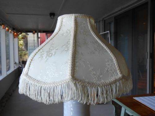 beaded lamp shade fringe ebay. Black Bedroom Furniture Sets. Home Design Ideas