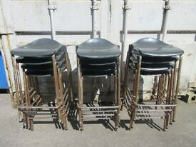 12 SCHOOL STOOLS - USED GOOD CONDITION - ONLY £40 FOR ALL 12 !!!WOW!!