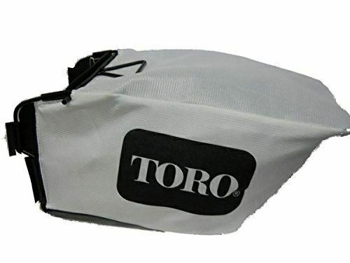 GENUINE OEM TORO PART # 59304 BAGGER KIT FOR 2007 & AFTER STEEL DECK RECYCLERS