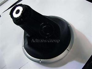 GENUINE FORD BA BF FALCON XR MANUAL GEAR SHIFT BOOT TEXTURED LEATHER LOOK SATIN