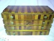 Vintage Large Wood Jewelry Box