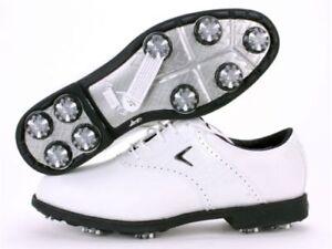 Women's Callaway Golf Shoes Ft Chev Tour W675 White size7.5